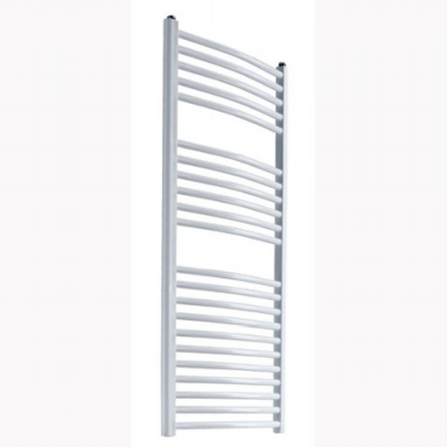 Reina Diva Curved Electric Towel Rail - 800mm x 500mm - White